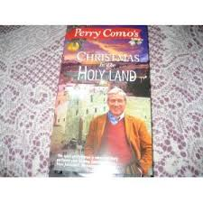 perry como in the holy land vhs perry