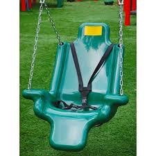 handicap swing adaptive swing seat by childworks ada playground equipment