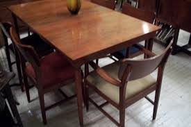 Mid Century Modern Dining Room Table An Orange Moon Sears U0026 Roebuck Mid Century Modern Dining Room Set