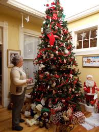 o christmas tree bakers display more than 20 trees throughout