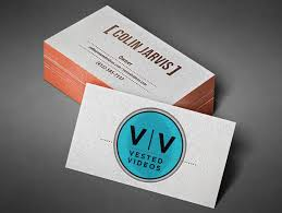 production company logo and business cards