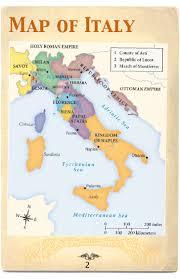 Modena Italy Map Renaissance Travel Guide