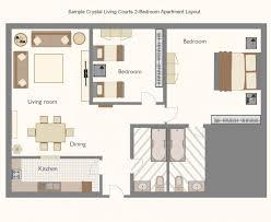 Small Flat Floor Plans Apartement Charming Studio Apartment Floor Plans Furniture