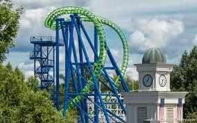 Goliath At Six Flags Cobra Roll