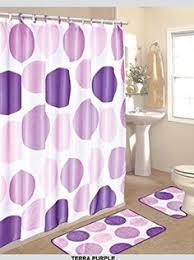 Purple Shower Curtain Sets - maytex gerber daisy peva vinyl shower curtain bathroom