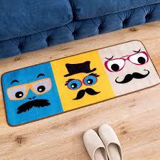 Schlafzimmer Blau Gelb Aliexpress Com Cartoon Gentleman Gesicht Muster Blau Gelb Kaffee