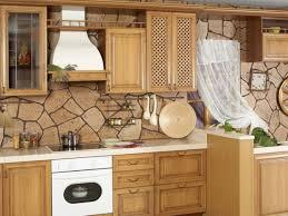 Stone Backsplashes For Kitchens Interior Beautiful Stacked Stone Backsplash Tile Ideas Images