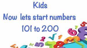 Counting From 100 To 200 Chart Counting Number 101 To 200