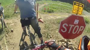 vikkslicks raw backyard dh biking adventures sun rise trail ski