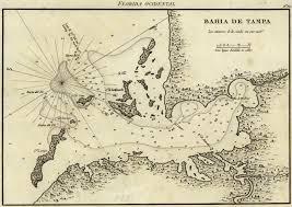 Map Of Tampa Florida by Bathymetric Tampa Bay Florida 1809