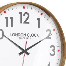 Scandinavian Wall Clock Large Boho Natural Wood Wall Clock Australia Purely Wall Clocks