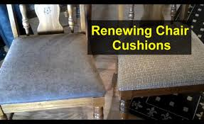 re cover chair cushions with new material home repair series