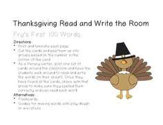 thanksgiving read and write the room fry s 100 fry s 100