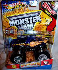 samson monster truck hall fame monstertrucks mattel