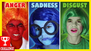 inside out costumes pictures for kids to color inside out characters