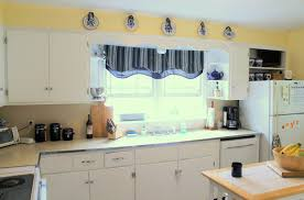 Material For Kitchen Curtains by 100 Yellow And Blue Kitchen Curtains Window Black And White