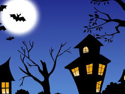 halloween hd wallpapers trees house night halloween hd wallpaper 10584