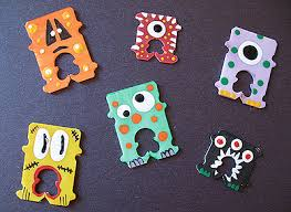 Recycled Halloween Crafts - halloween crafts for kids recycled bread tag monsters crafts