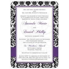 email invites photo template wedding invitation black and white damask