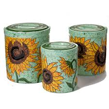 sunflower kitchen canisters musings of an artist sunflower canisters ilovetocreate