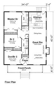 Shotgun Floor Plans House Plan 74001 Cottage Narrow Lot By Sweet Dreams Floorplans