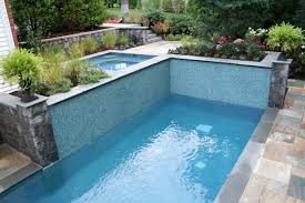 Small Backyard Pool by Landscaping Ideas By Nj Custom Pool U0026 Backyard Design Expert