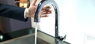 moen motionsense kitchen faucets moen align single handle pull sprayer touchless kitchen