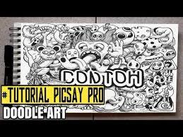 tutorial doodle art picsay pro download cara membuat doodle art di picsay pro batyoutube com