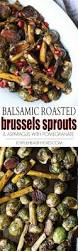 Balsamic Roast Beef In Oven Balsamic Roasted Brussels Sprouts U0026 Asparagus Easy Healthy