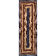 Outdoor Runner Rug Reversible Braided Indoor Outdoor Runner Rug Jcpenney