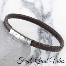 silver woven bracelet images Men 39 s personalised woven bracelet by lisa angel jpg