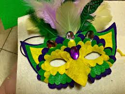 your own mardi gras parade with these 20 fun diy masks