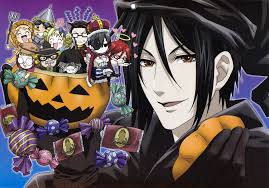 zero halloween background kuroshitsuji black butler halloween zerochan anime image board