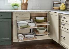 how big is a corner base cabinet yorktowne cabinetry corner base cabinet pull out