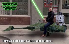 Arrow Meme - 21 funniest memes from arrow fooyoh entertainment