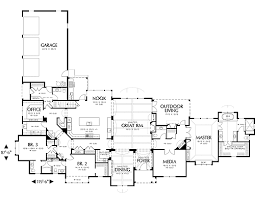 Jack And Jill Bathroom House Plans European House Plan With 3 Bedrooms And 2 5 Baths Plan 5547