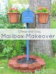 Cheap Curb Appeal - best 25 cheap mailboxes ideas on pinterest cheap exterior doors
