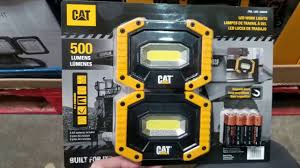 cat rechargeable led work light costco costco cat led worklight w magentic base 2pk 19 youtube