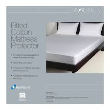 100 cotton mattress protector by in 2 linen linen room