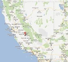 map of fresno fresno california map