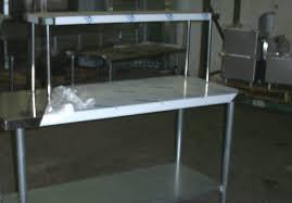 Stainless Over ShelvesCommercial Over ShelvingRestaurant Over - Commercial kitchen stainless steel tables