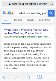 what does a wedding planner do wedding planner seo in just 10 minutes a day