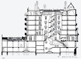 casa batllo floor plan casa mila section drawing pinterest arch