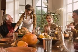 thanksgiving according to stock photos