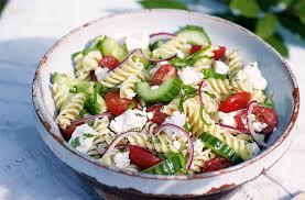 pasta salad greek pasta salad tesco real food