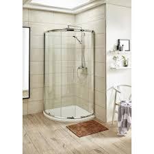 pacific 860 x 860mm single door quadrant shower enclosures direct