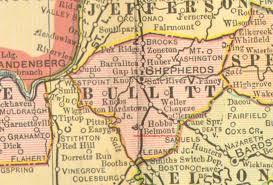 kentucky map bardstown bullitt county kentucky 1905 map shepherdsville