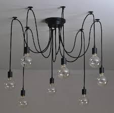 Ceiling Pendant Light Fixtures Antique Classic Edison Chandelier Vintage E27 Industrial Pendant