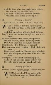 On His Blindness John Milton Meaning Hymns For All Christians L92 When I Consider How My Light Is