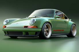porsche 930 modified next level 911 singer teams up with williams and hans mezger by